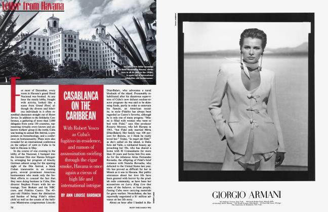 Article Preview: CASABLANCA ON THE CARIBBEAN, March 1995 | Vanity Fair