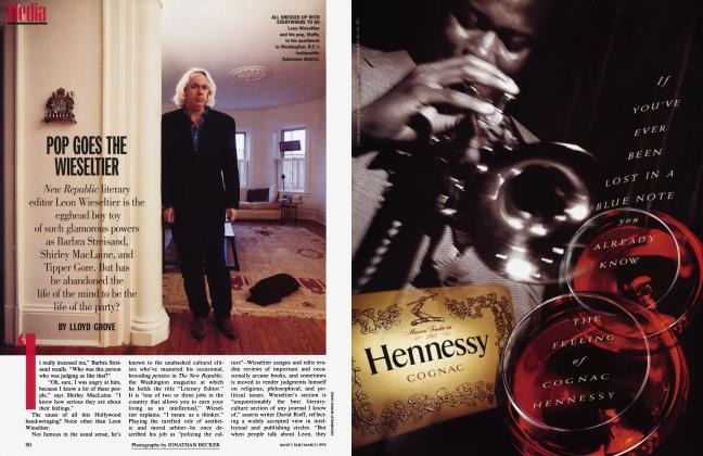 Article Preview: POP GOES THE WIESELTIER, March 1995 | Vanity Fair