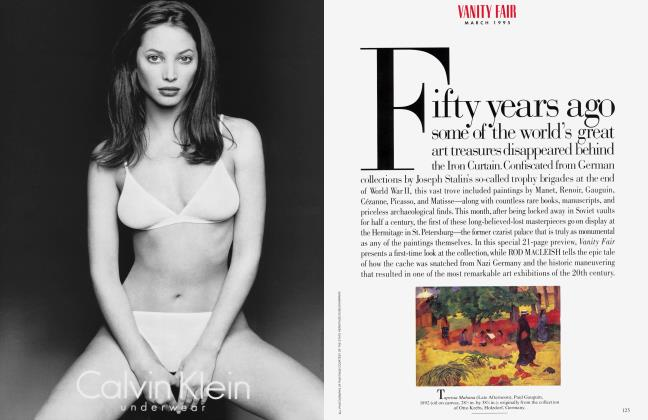 Article Preview: THE ART AND THE GLORY, March 1995 1995 | Vanity Fair