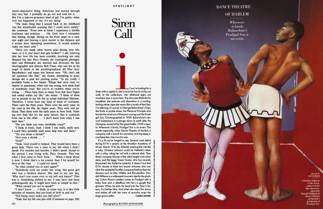 Article Preview: Siren Call, March 1995 1995 | Vanity Fair