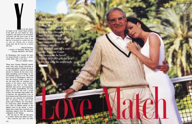 Article Preview: Love Match, March 1995 1995 | Vanity Fair