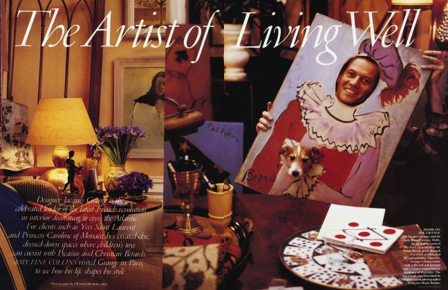 Article Preview: The Artist of Living Well, March 1995 | Vanity Fair