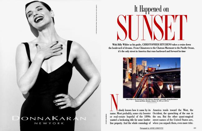 Article Preview: It Happened on SUNSET, April 1995 1995 | Vanity Fair