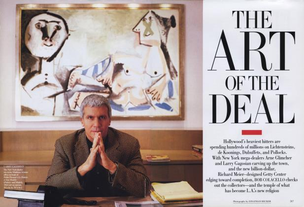 Article Preview: THE ART OF THE DEAL, April 1995 | Vanity Fair