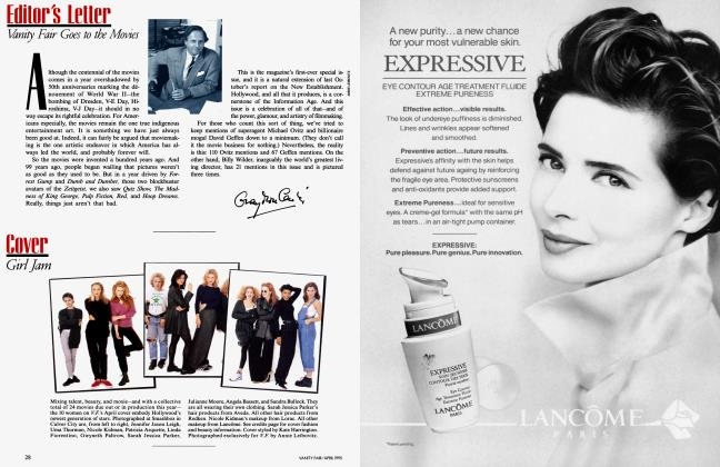 Article Preview: Cover, April 1995 1995 | Vanity Fair