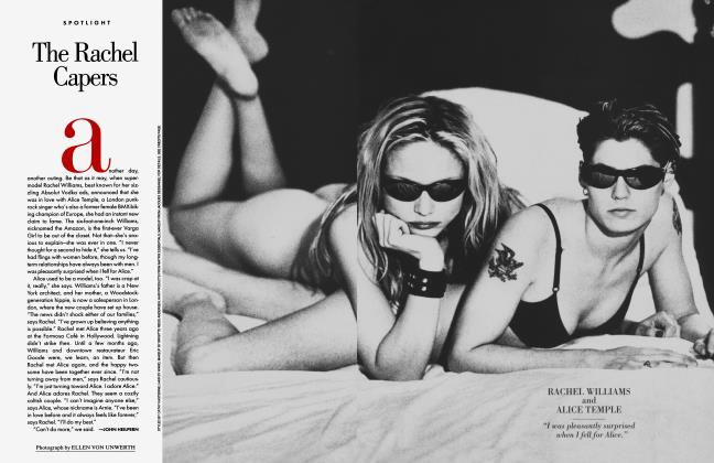 Article Preview: The Rachel Capers, May 1995 1995 | Vanity Fair