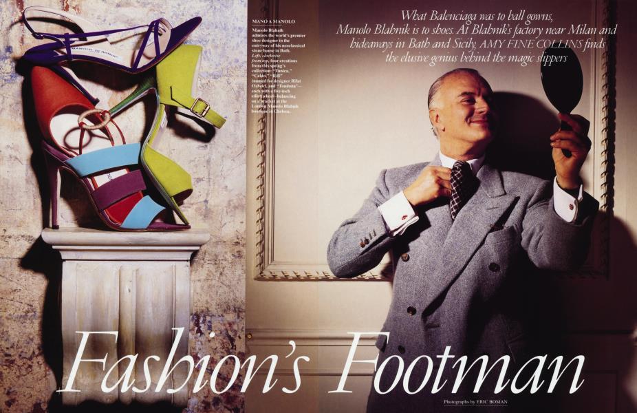 Fashion's Footman