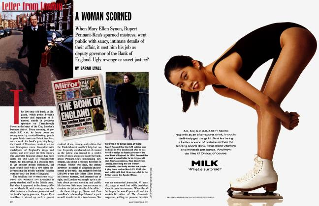 Article Preview: A WOMAN SCORNED, June 1995 | Vanity Fair