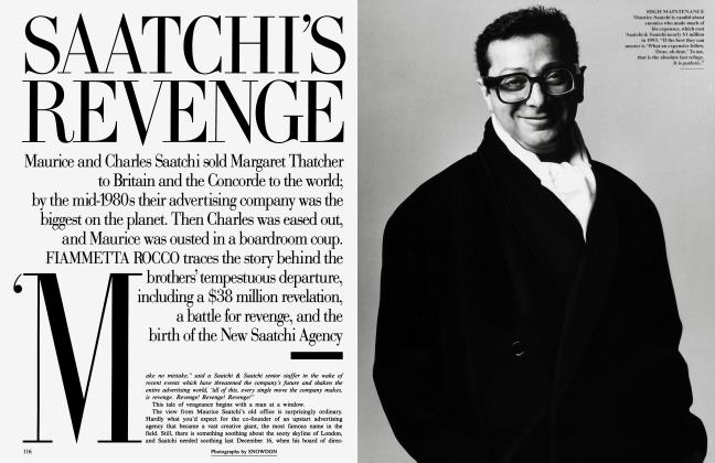 Article Preview: SAATCHI'S REVENGE, June 1995 | Vanity Fair