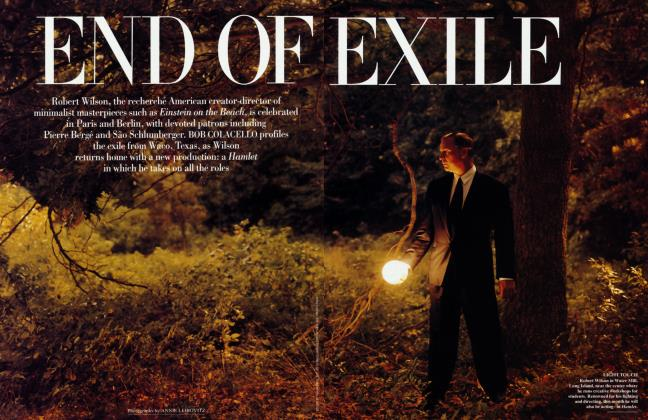 Article Preview: END OF EXILE, June 1995 1995 | Vanity Fair