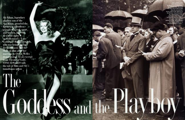 Article Preview: The Goddess and the Playboy, June 1995 | Vanity Fair