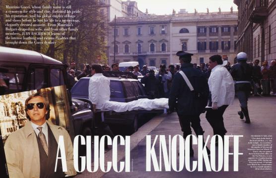 A GUCCI KNOCKOFF - July | Vanity Fair