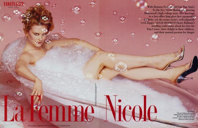 Article Preview: La Femme Nicole, July 1995 1995 | Vanity Fair