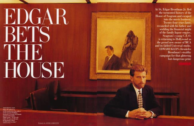 Article Preview: EDGAR BETS THE HOUSE, July 1995 1995 | Vanity Fair