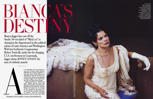Article Preview: BIANCA'S DESTINY, July 1995 1995 | Vanity Fair