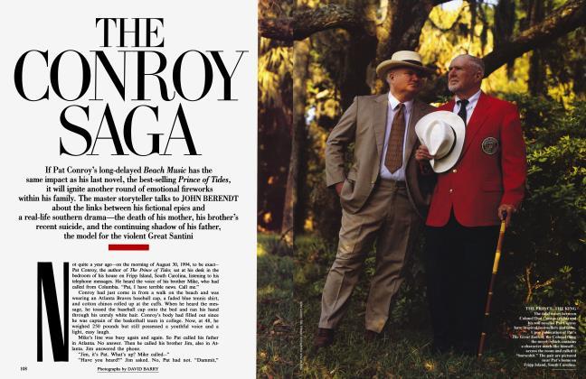 Article Preview: THE CONROY SAGA, July 1995 1995 | Vanity Fair