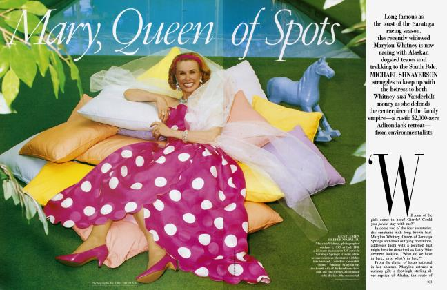 Article Preview: Mary, Queen of Spots, August 1995 | Vanity Fair