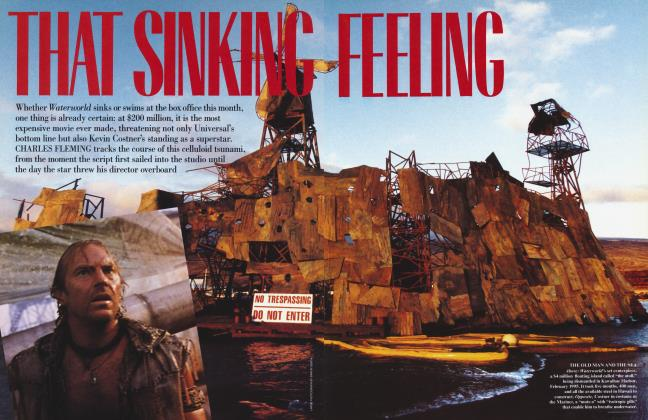 Article Preview: THAT SINKING FEELING, August 1995 | Vanity Fair