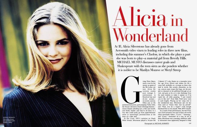 Article Preview: Alicia in Wonderland, August 1995 1995 | Vanity Fair