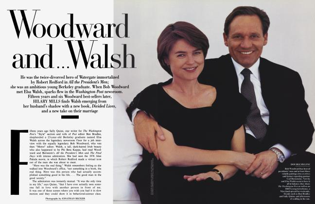 Article Preview: Woodward and . . . Walsh, August 1995 1995 | Vanity Fair
