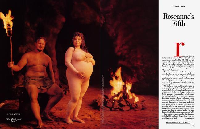 Article Preview: Roseanne's Fifth, September 1995 1995 | Vanity Fair