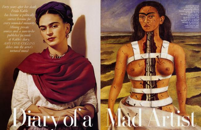 Article Preview: Diary of a Mad a Artist, September 1995 | Vanity Fair
