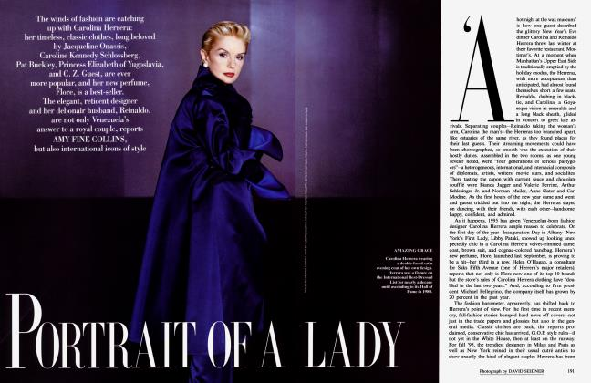 Article Preview: PORTRAIT OF A LADY, September 1995 1995 | Vanity Fair