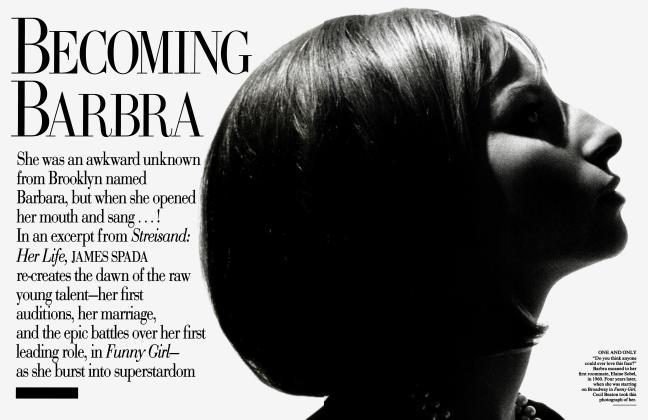 Article Preview: BECOMING BARBRA, September 1995 | Vanity Fair