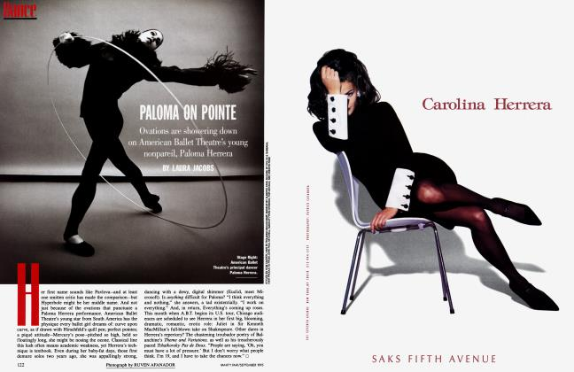 Article Preview: PALOMA ON POINTE, September 1995 1995 | Vanity Fair
