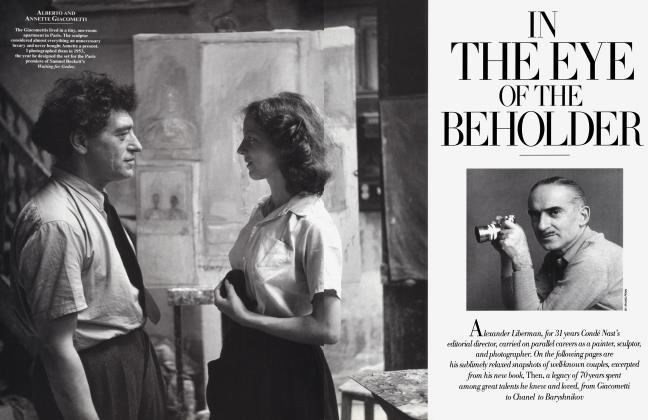 Article Preview: IN THE EYE OF THE BEHOLDER, October 1995 1995 | Vanity Fair