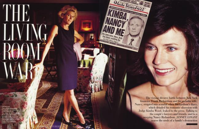Article Preview: THE LIVING ROOM WAR, October 1995 1995 | Vanity Fair