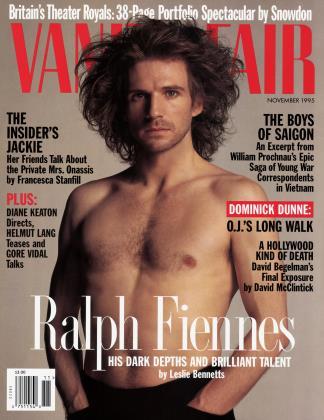 November 1995 | Vanity Fair