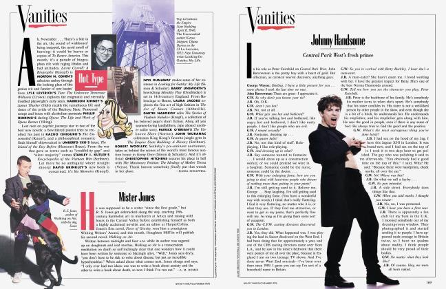 Article Preview: Mister Jones, November 1995 1995   Vanity Fair