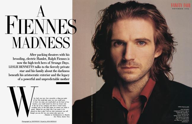 Article Preview: A FIENNES MADNESS, November 1995 | Vanity Fair
