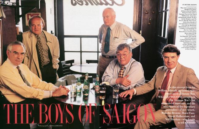 Article Preview: THE BOYS OF SAIGON, November 1995 | Vanity Fair
