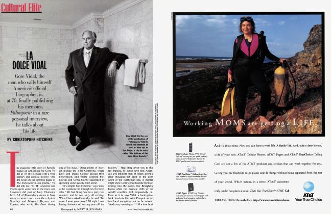Article Preview: LA DOLCE VIDAL, November 1995 | Vanity Fair
