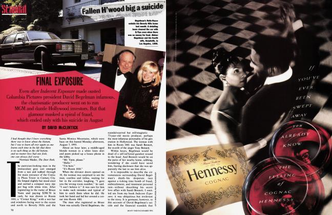 Article Preview: FINAL EXPOSURE, November 1995 | Vanity Fair