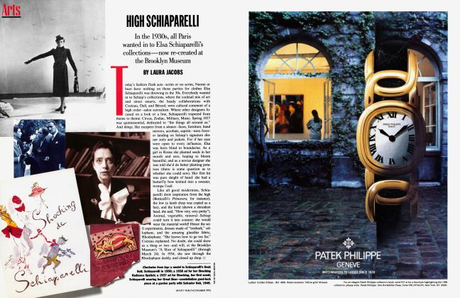 Article Preview: HIGH SCHIAPARELLI, November 1995 1995 | Vanity Fair
