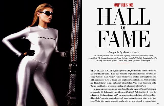 Article Preview: HALL OF FAME, December 1995 | Vanity Fair