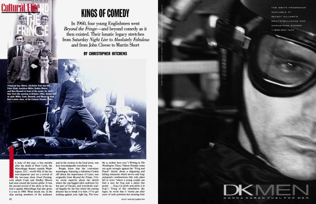 Article Preview: KINGS OF COMEDY, December 1995 1995 | Vanity Fair