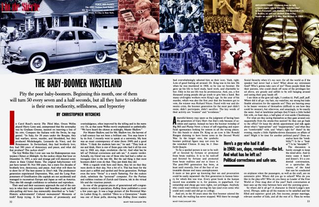 Article Preview: THE BABY-BOOMER WASTELAND, January 1996 | Vanity Fair