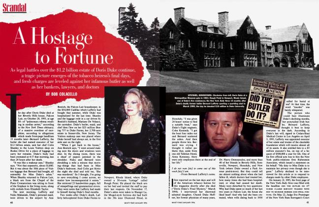 Article Preview: A Hostage to Fortune, January 1996 | Vanity Fair