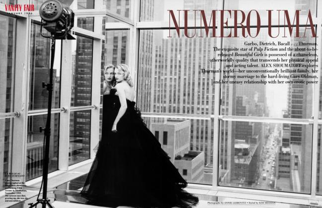 Article Preview: NUMERO UMA, January 1996 | Vanity Fair