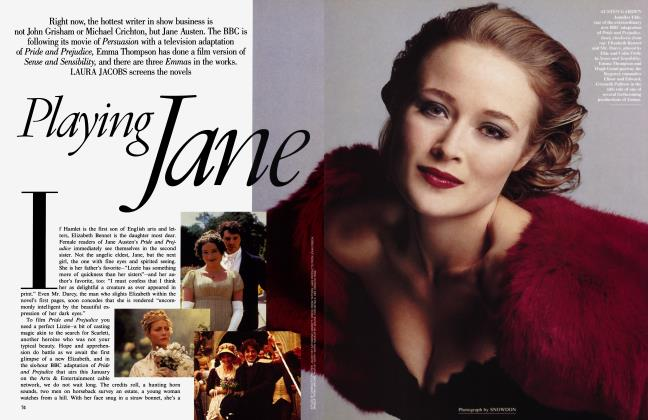 Article Preview: Playing Jane, January 1996 1996 | Vanity Fair