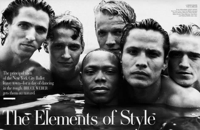 Article Preview: The Elements of Style, January 1996 1996 | Vanity Fair