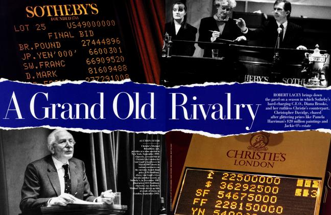 Article Preview: A Grand Old Rivalry, January 1996 | Vanity Fair