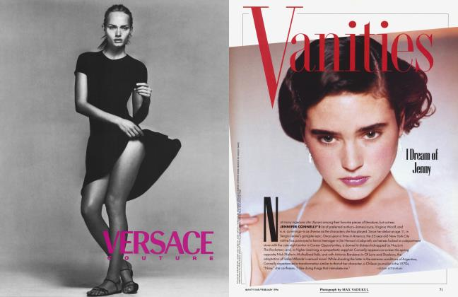 Article Preview: I Dream of Jenny, February 1996 1996 | Vanity Fair