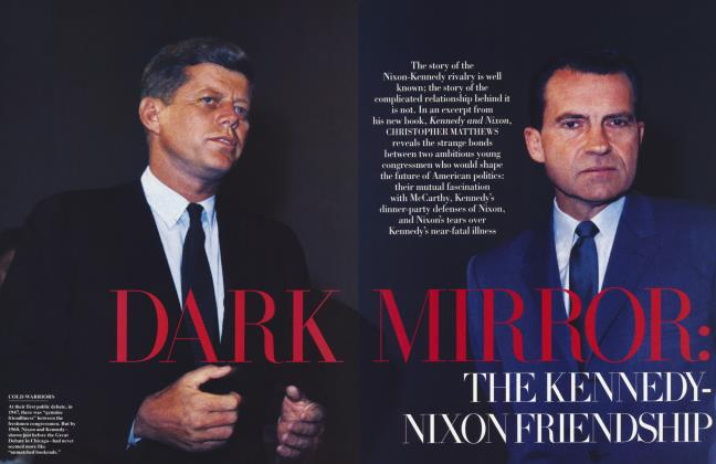 Article Preview: DARK MIRROR: THE KENNEDY-NIXON FRIENDSHIP, February 1996 1996 | Vanity Fair