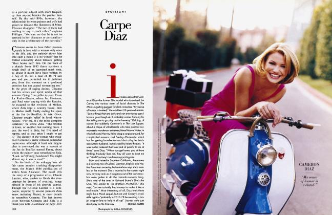 Article Preview: Carpe Diaz, March 1996 1996   Vanity Fair
