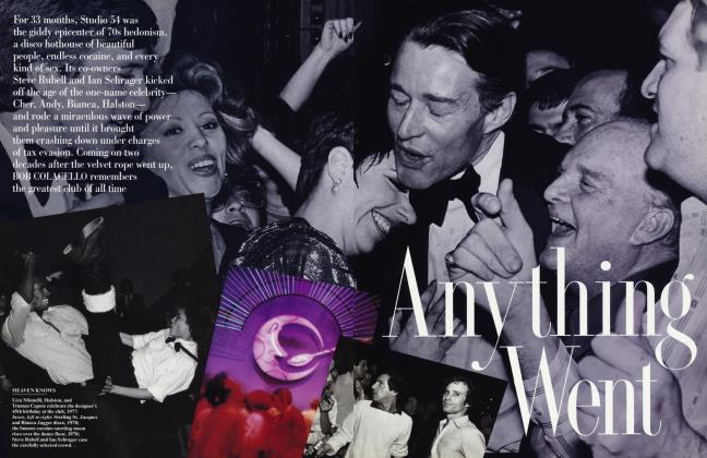 Article Preview: ANYTHING WENT, March 1996 | Vanity Fair